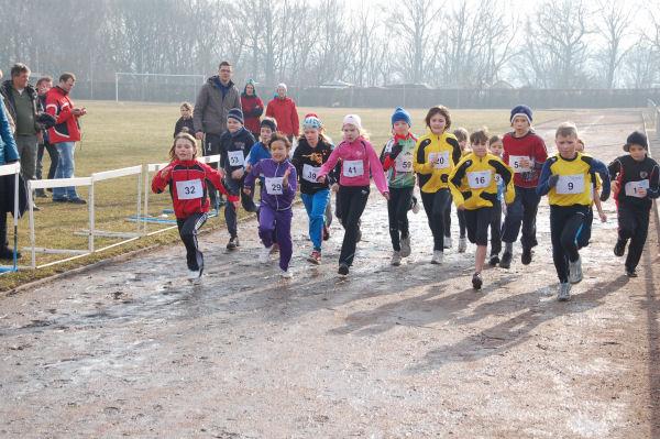 Start beim Winterschlußlauf 2011
